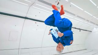 Watch Astronaut Mike Massimino Build a Lego Mars Shuttle in Zero Gravity
