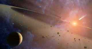 Artist's Concept of Alien Solar System