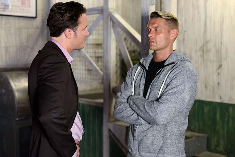 Christian brawls with Danny