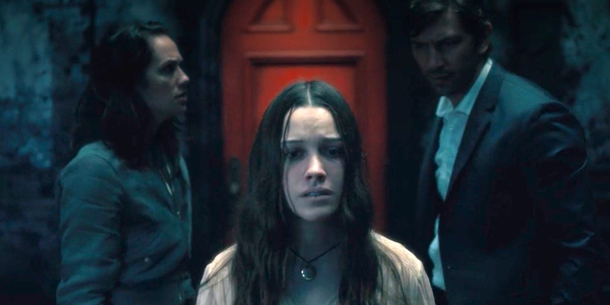 Nell in The Haunting of Hill House.