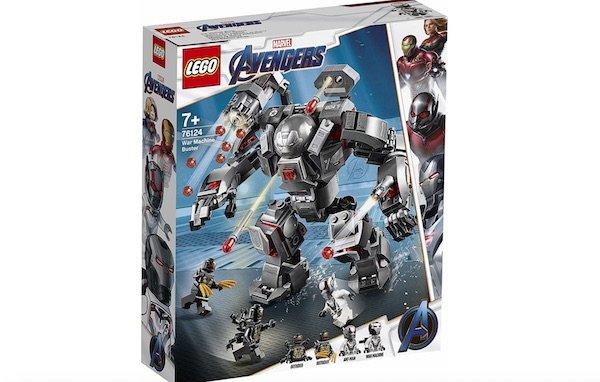 War Machine's Hulkbuster armor