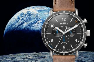 shinola moon bean watch