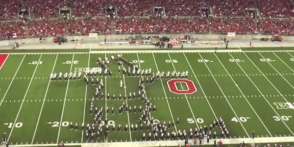 Watch Ohio State S Band Crush These Popular Tv Theme Songs