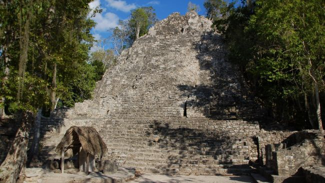 Cobá was one of the most powerful ancient Mayan cities and Lady K'awiil Ajaw was one of its most warlike rulers.
