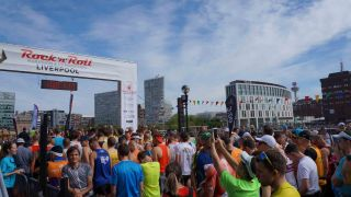 IE Production Services Runs With K-array at Liverpool's Rock 'n' Roll Marathon