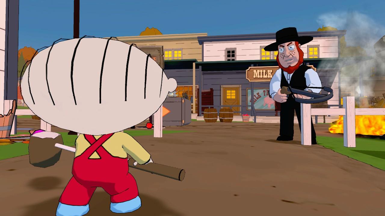 Family Guy: Back to the Multiverse Screenshots Shoot Up Quahog #22911
