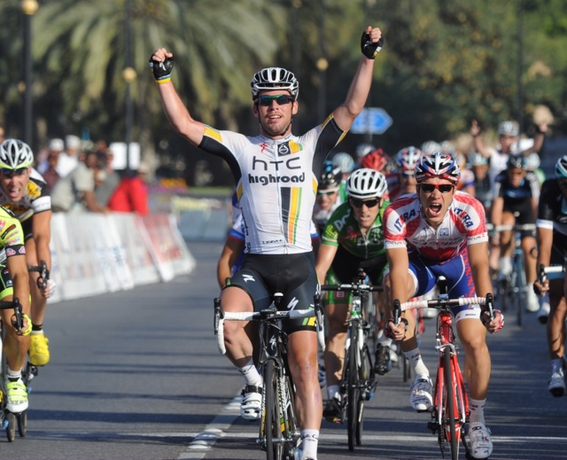 Mark Cavendish wins, Tour of Oman 2011 stage six