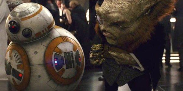 Star Wars The Last Jedi BB-8 with Mark Hamill as Dobbu Scay