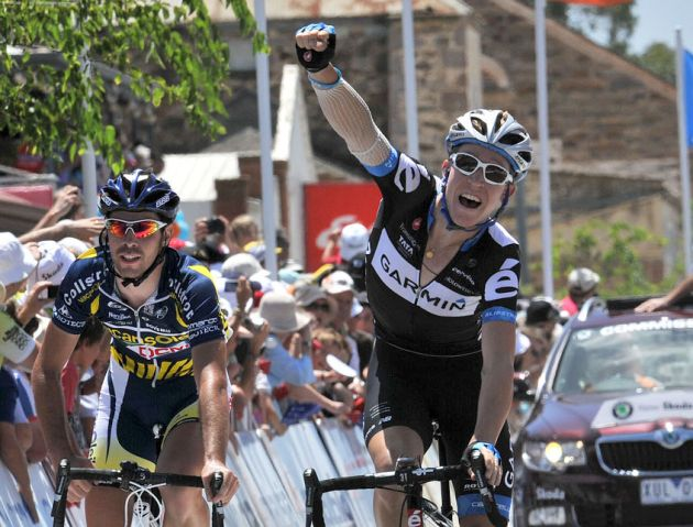 Cameron Meyer wins Tour Down Under 2011 stage four