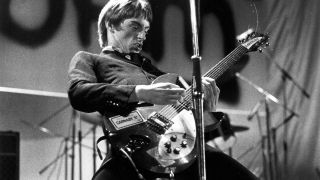 Paul Weller with Rickenbacker 330