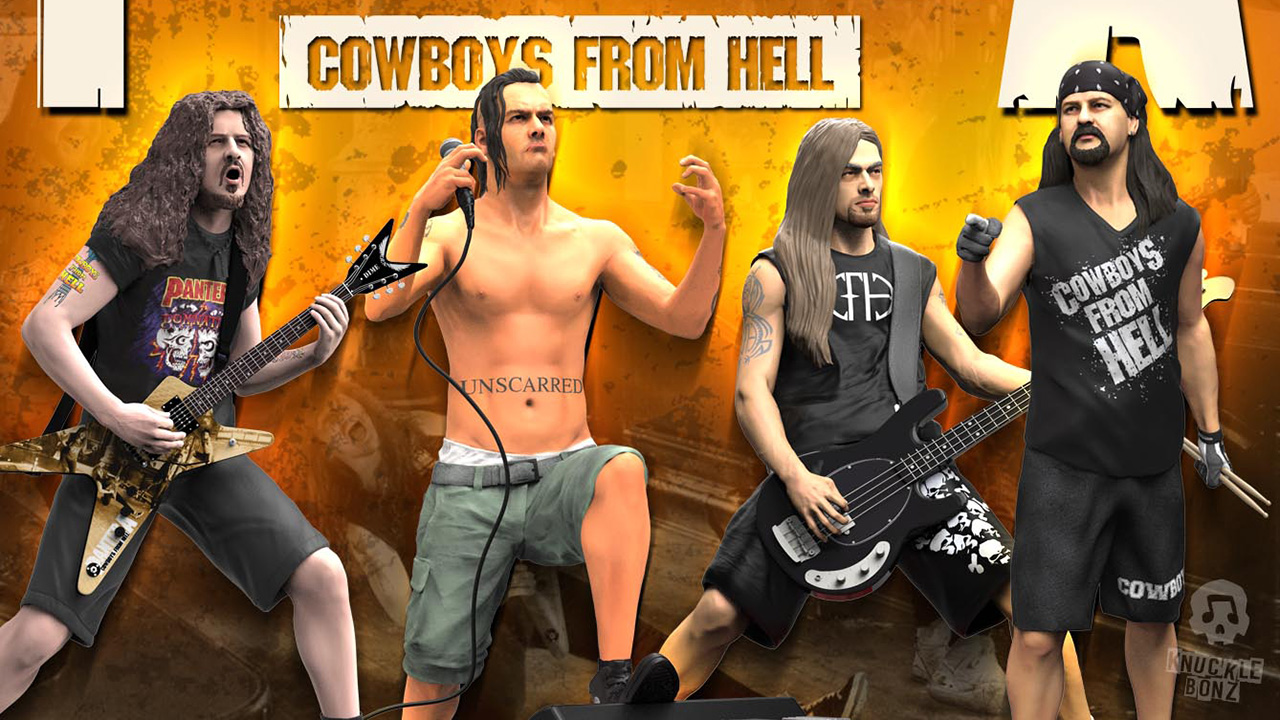 Cowboys From Hell-era Pantera figures set for Rock Iconz
