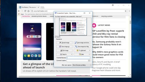 Screenshot Captor review and where to download review