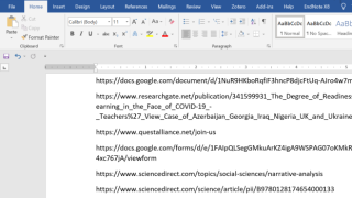 How to copy the URL of all open tabs in Chrome
