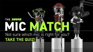 Shure Mic Match quiz