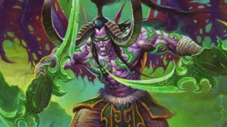 Hearthstone Demon Hunter Illidan Stormrage