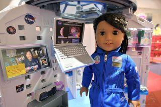 american girl doll astronaut launch