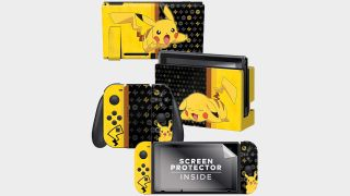 Save up to 30% on these cool Nintendo Switch skin and screen protector sets right now