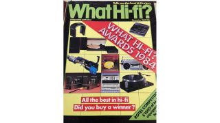 A look back at the first What Hi-Fi? Awards, 1983