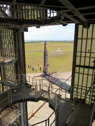 Vector Rocket at LC 46