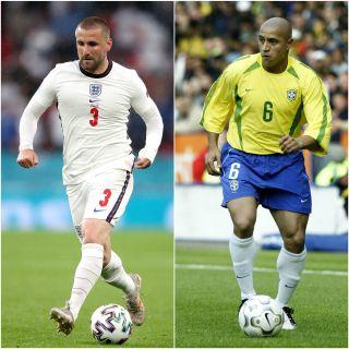 Roberto Carlos has been impressed by Luke Shaw