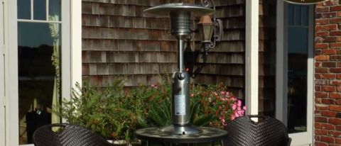 Fire Sense Table Top Patio Heater review