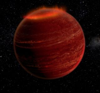 Auroras on Brown Dwarf LSR J1835+3259