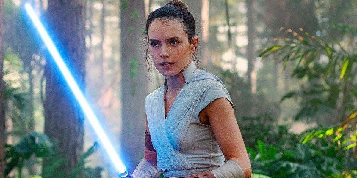 Daisy Ridley as Rey Skywalker in Star Wars: The Rise of Skywalker