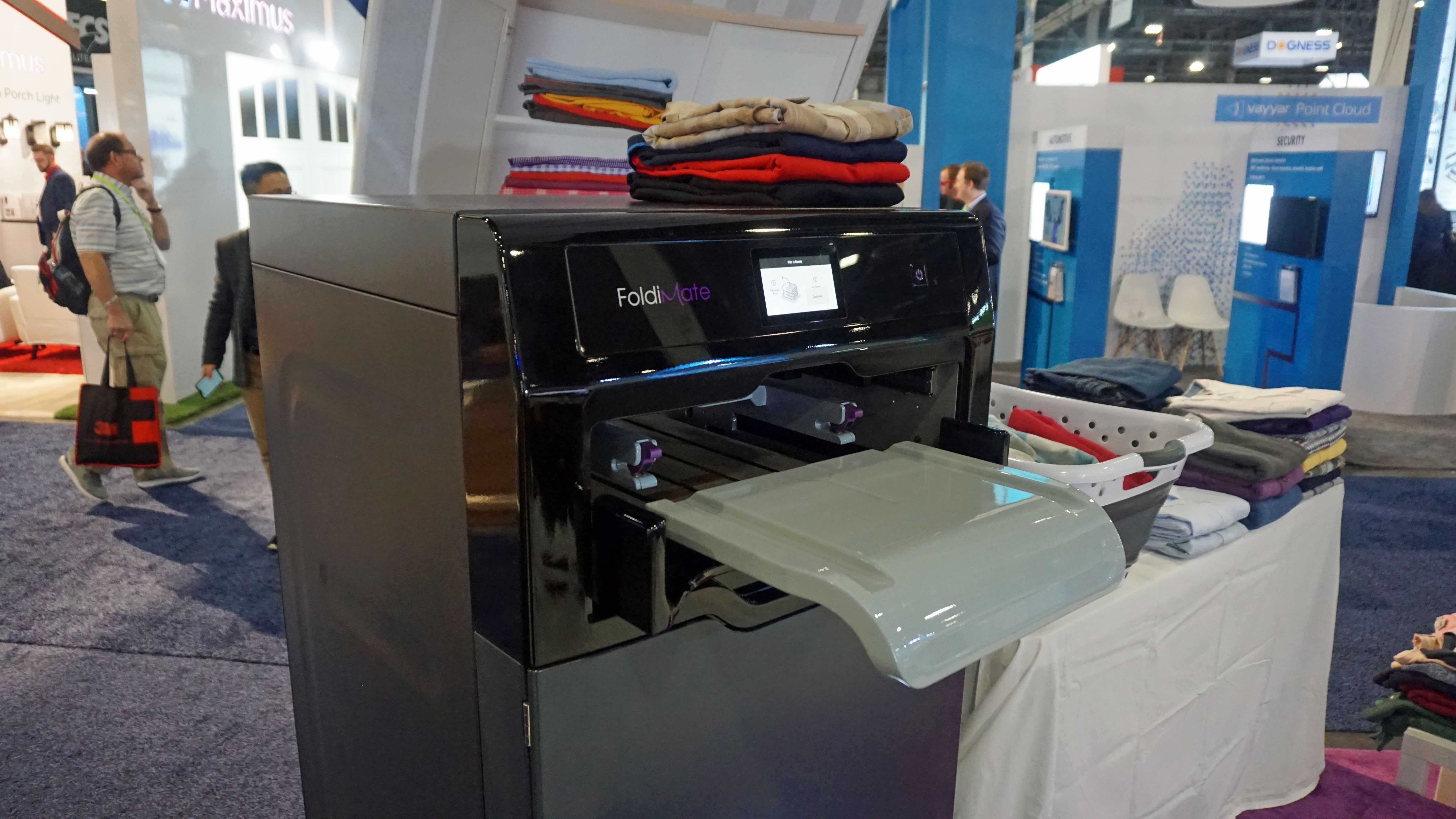 This Machine Will Fold Your Laundry For You Techradar