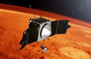 Artist's Illustration: MAVEN at Mars