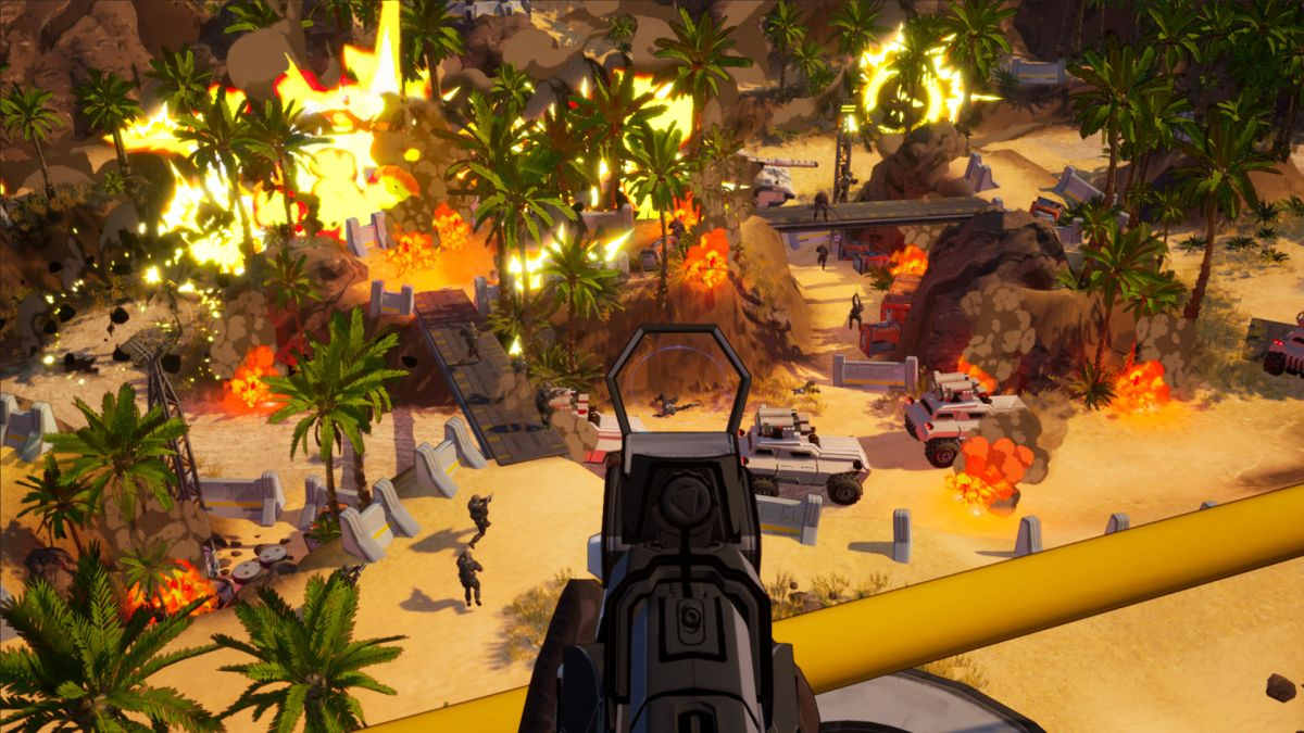 Earthbreakers is an RTS-inspired FPS by ex-Westwood developers