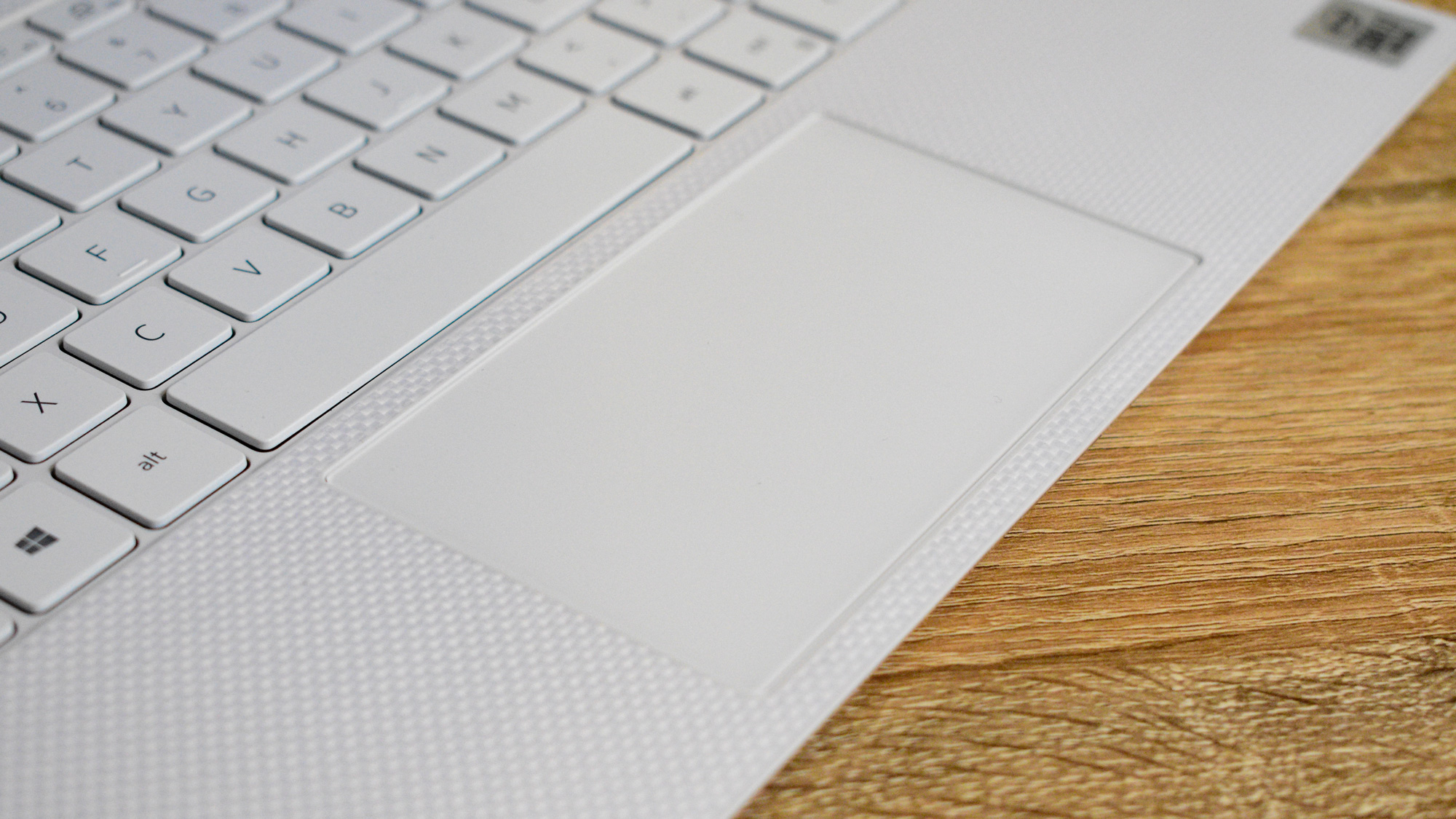 The Dell XPS 13 (2020)'s trackpad