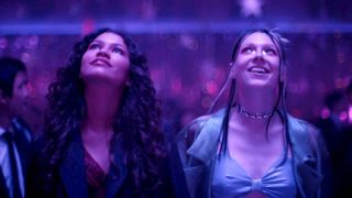 Zendaya and Hunter Schafer in 'Euphoria'