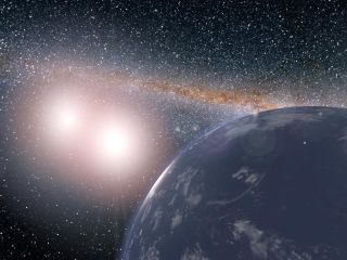 Hypothetical Tatooine World in Kepler-35 System