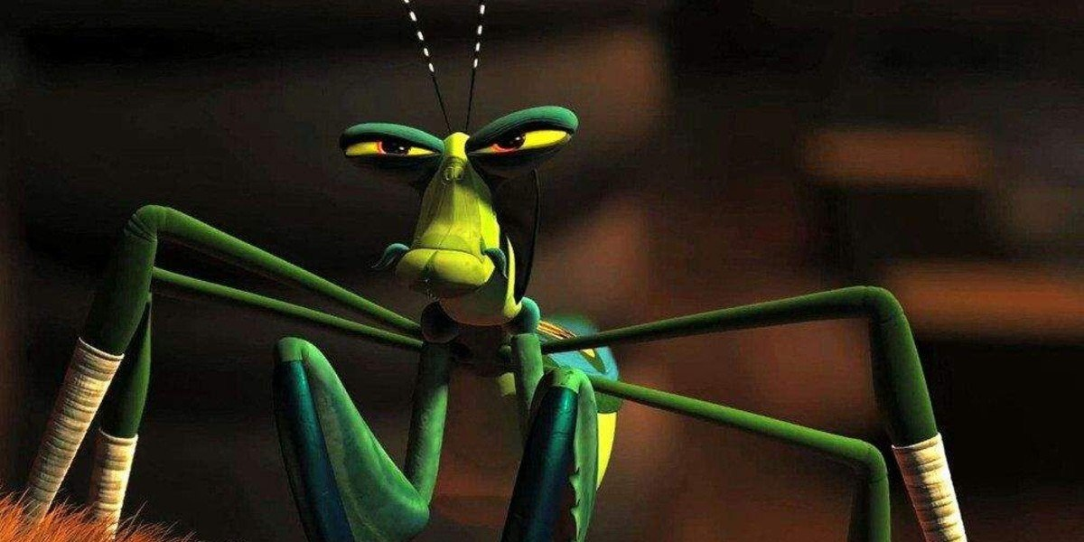 Seth Rogen as Mantis in Kung Fu Panda