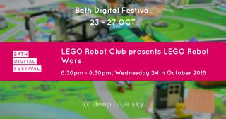 lego robot wars flyer