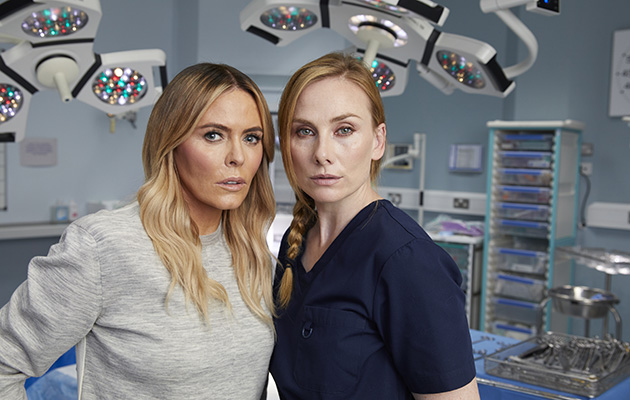 Holby City stars Patsy Kensit and Rosie Marcel