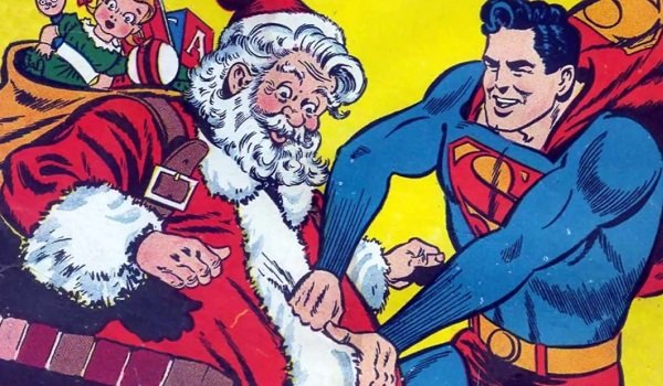 Santa Superman Action Comics 105 DC
