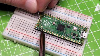 Soldering Raspberry Pi Pico