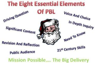Real Project Based Learning: The Big Delivery - Santa Believes in PBL… Do You?