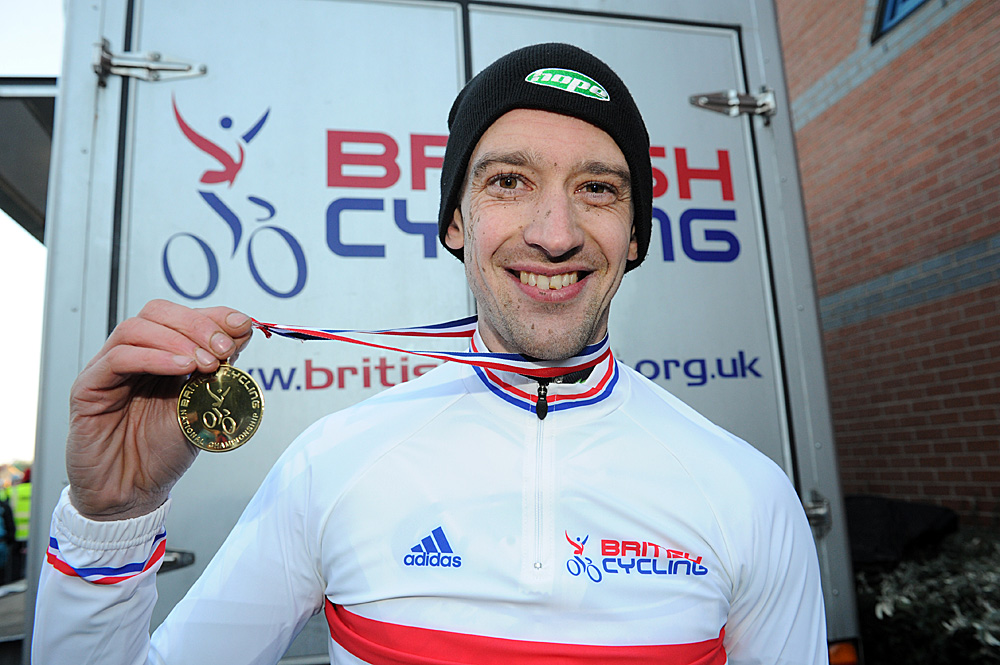 Paul Oldham, national champ, Cyclo-Cross National Championships 2011
