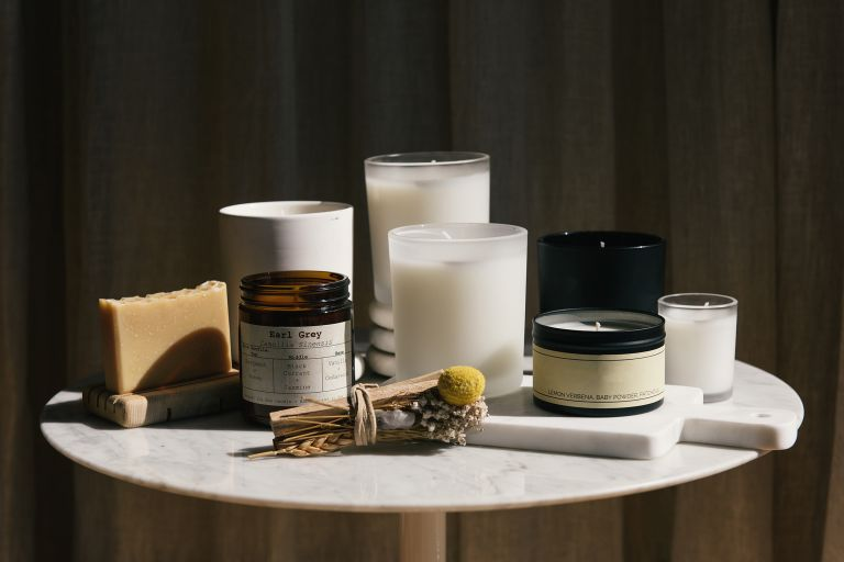 a handful of the best home fragrances on display