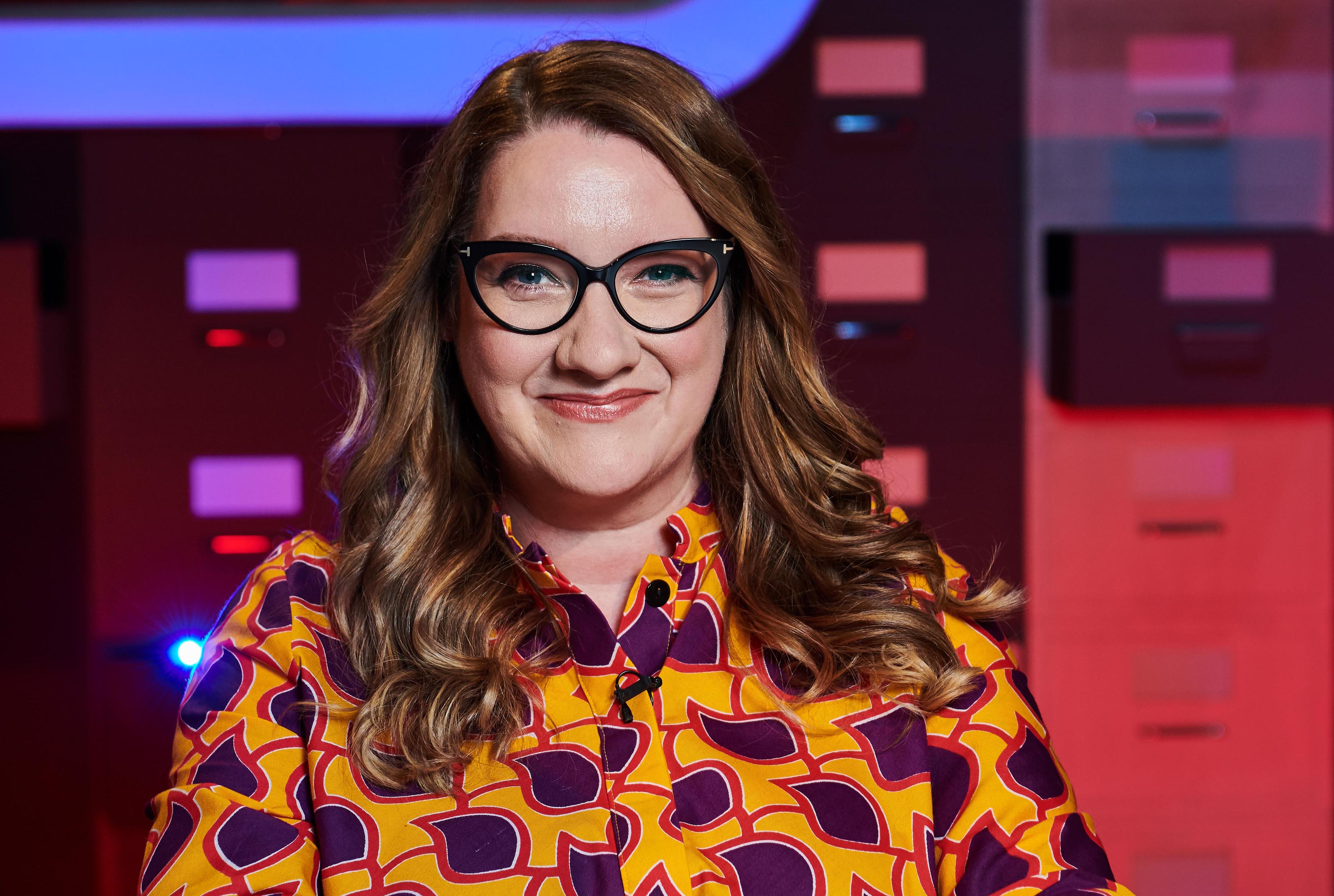 Sarah Millican is a guest on The Complaints Department