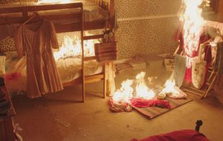 Hollyoaks spoilers: The McQueen house is burnt down! Who will die?