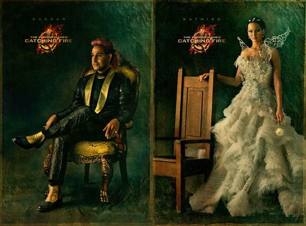 The Hunger Games Catching Fire Image Shows Off Katnisss Wedding Gown - Katniss Wedding Dress