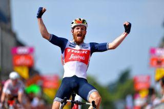 Quinn Simmons (Trek-Segafredo) wins stage 3 at Tour de Wallonie