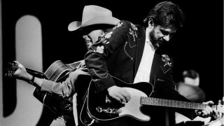 Pete Anderson and Dwight Yoakam