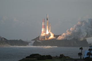 Japanese H-2A Rocket Lifts Off