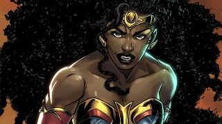 Here's your first look at Nubia from DC Future State: Immortal Wonder Woman #1