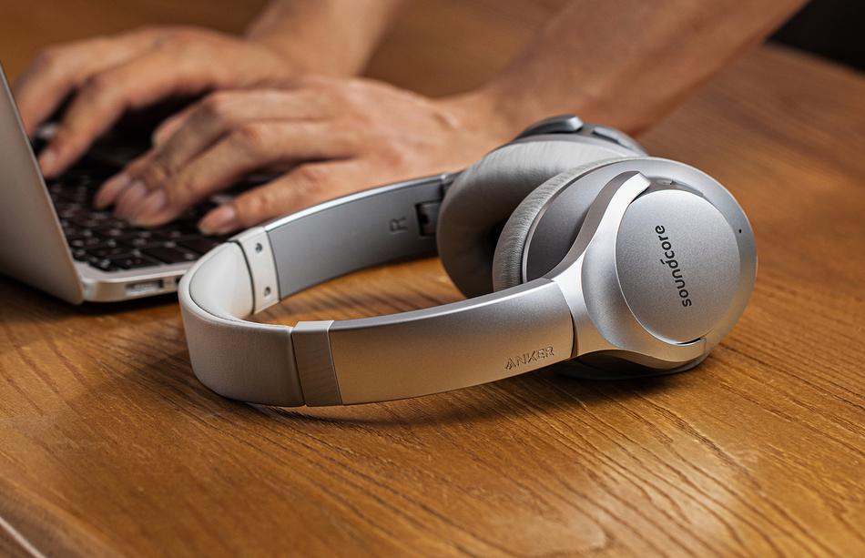 Best noise cancelling headphones: Anker Soundcore Life Q20