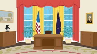 Oval Office interior design